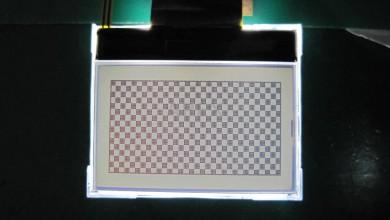 Monochrome display (128x64)